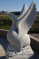 Custom Carved Swan Fountain without Pedestal.  Swan, L28 x W16