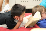 Being able to curl up with a book to read is one of the pleasures our elementary students treasure! How much more enjoyable this is than laboring through the text excerpts so commonly found in grade readers!--at the Irvine Spectrum campus