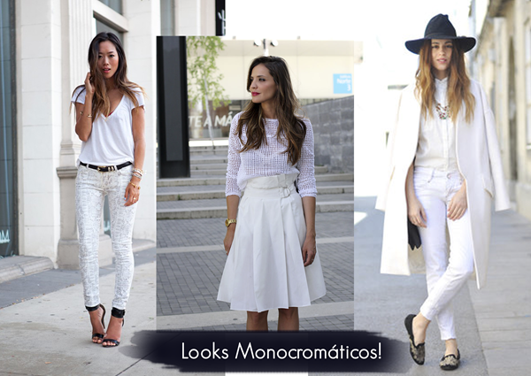 looks monocromáticos
