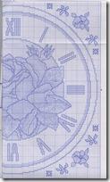 reloj rosa punto de cruz (4)