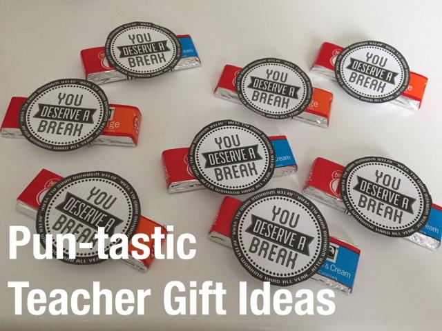 Mama Mummy Mum: Last Minute Pun-Tastic Teacher Gift Ideas