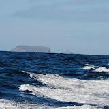 Cratera de vulcão (lembra Molokini, Hawwaii) rumo a Isabela - Galápagos, Equador