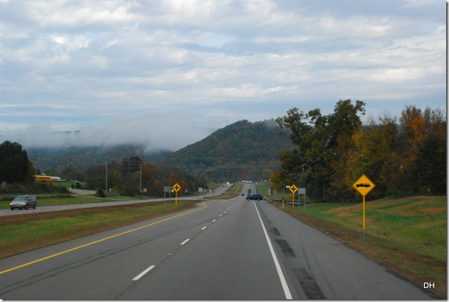 Travel from Kingsport to Cumberland I26-US11W-US25E (84)