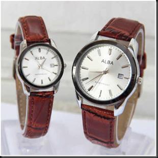 Jam Tangan Cantik dan Murah Alba Couple SL 24