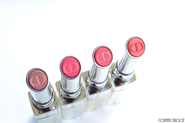 Dior Addict Tie Dye Lipstick Review Swatches