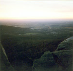 View of Myersville, Maryland from Annapolis Rock.