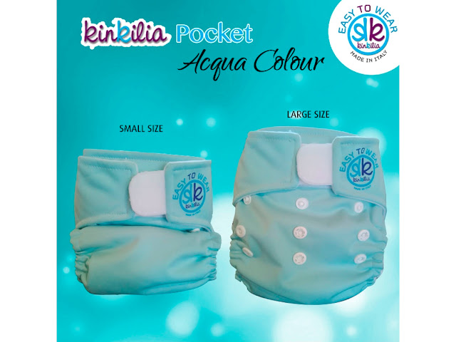 Pocket Easy to Wear Kinkilia Acqua