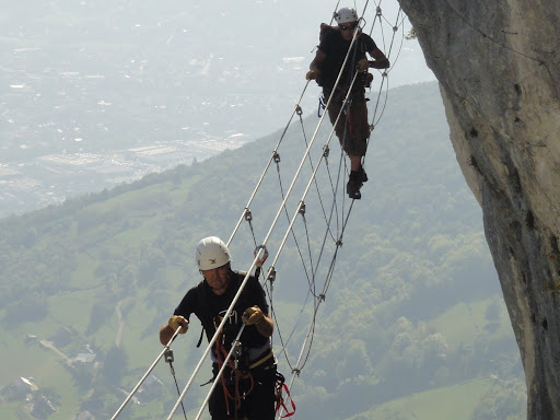 Via ferrata de Jules Carret, Massif des Bauges