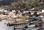 Fishing village on the Sea of Japan coast.