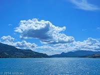 Der Lac de Serre-Poncon bei Embrun. Mit ca. 3000 ha der zweitgrößte Stausee in Europa.