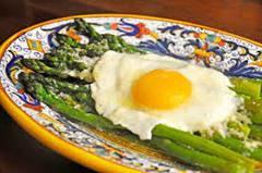 asparagus alla milanese