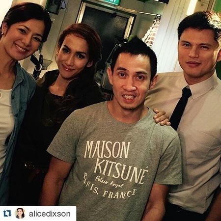 Alice Dixson, Ina Raymundo, Dominic Zapata and Zoren Legaspi - Marimar