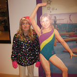 Hannah in the American Girl store in Chicago 01142012b