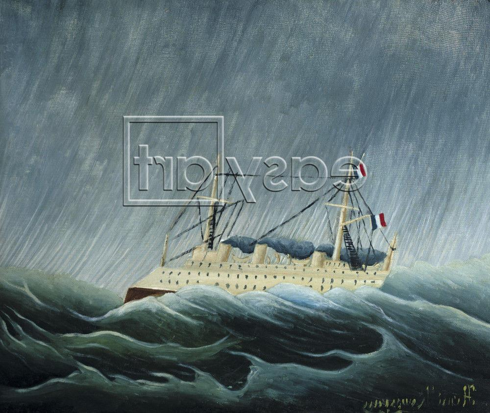 The Storm-Tossed Vessel 1890
