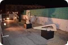 El Encuentro de Escultura atrajo la mirada del público