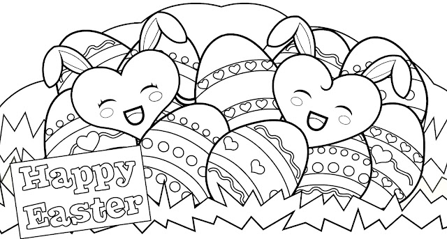 printable easter egg coloring pages - Top 25 Free Printable Easter Egg Coloring Pages Online