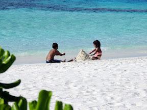 Beach fun at Picnic Island