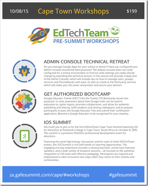 Cape Town 2015 Pre-Summit_Flyer