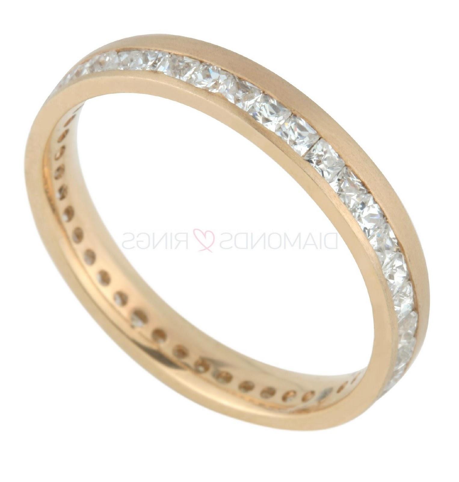Princess Cut Diamond set ring,