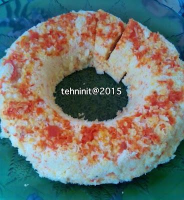 Cake wortel kukus sehat