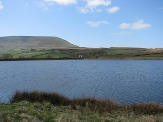 Pendle from Upper Black Moss Reservoir