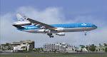 KLM MD-11 arrives St. Maarten