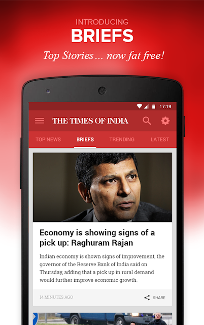 The Times of India News screenshots