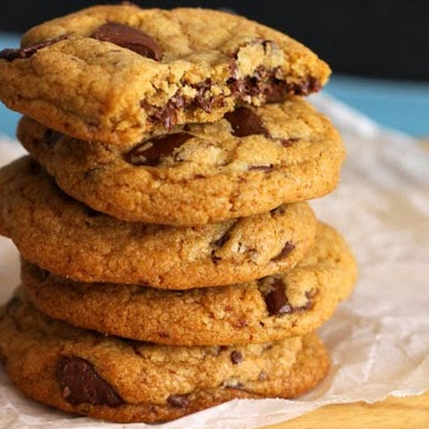 Chewy Coconut Oil Chocolate Chunk Cookies