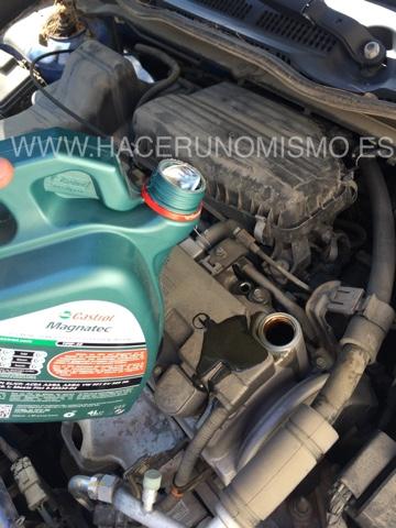 Como cambiar el aceite al coche