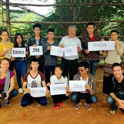 Teacher training at Koung Jor Refugee Camp - October 2014