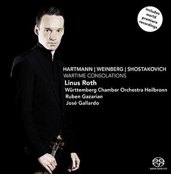 CD REVIEW: K. A. Hartmann, M. Weinberg, & D. Shostakovich - WARTIME CONSOLATIONS (Challenge Classics CC72680)