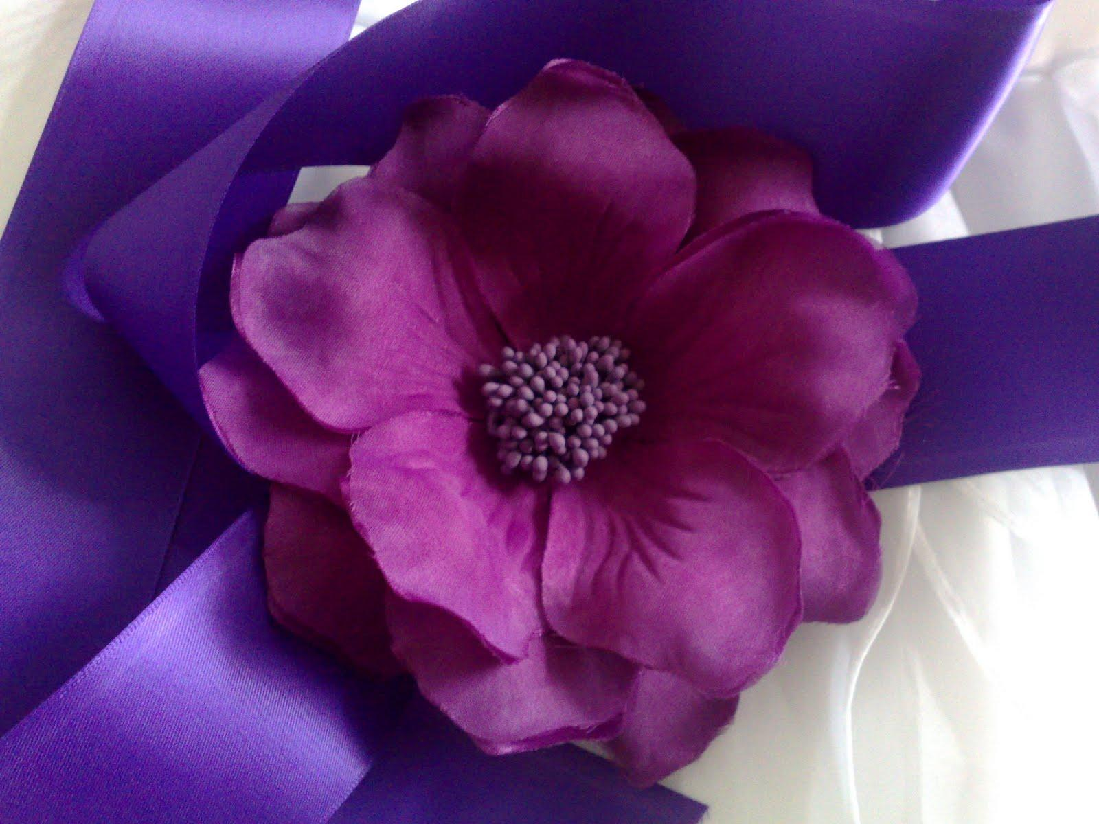Wedding Preparation: Purple