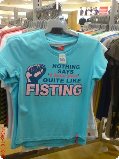fisting shirt