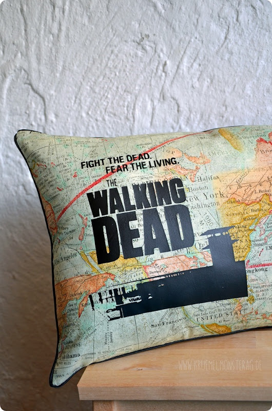 #twd (03) The Walking Dead Kissen GLENN für Sami