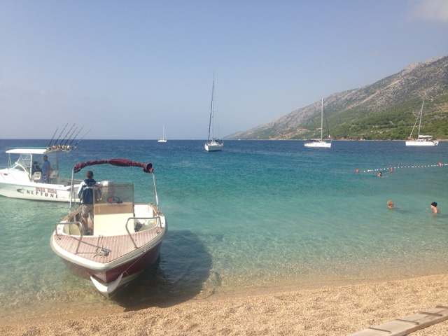 Bol Beach on Brac Island