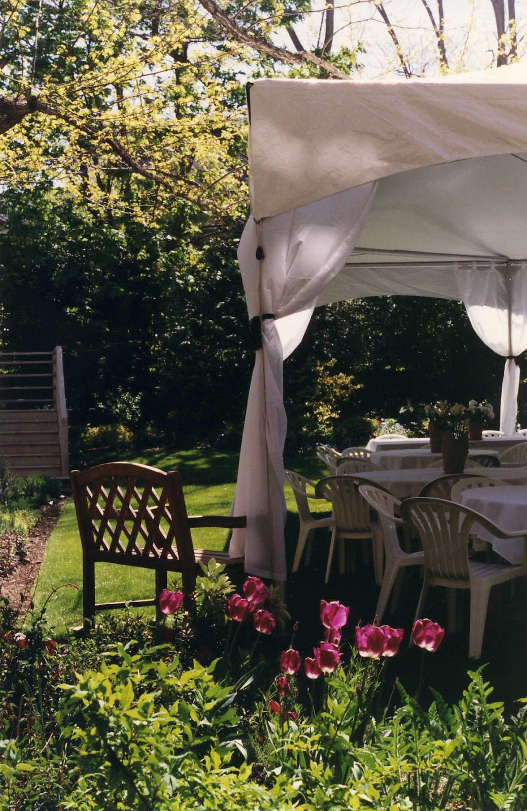 Outdoor Wedding Receptions