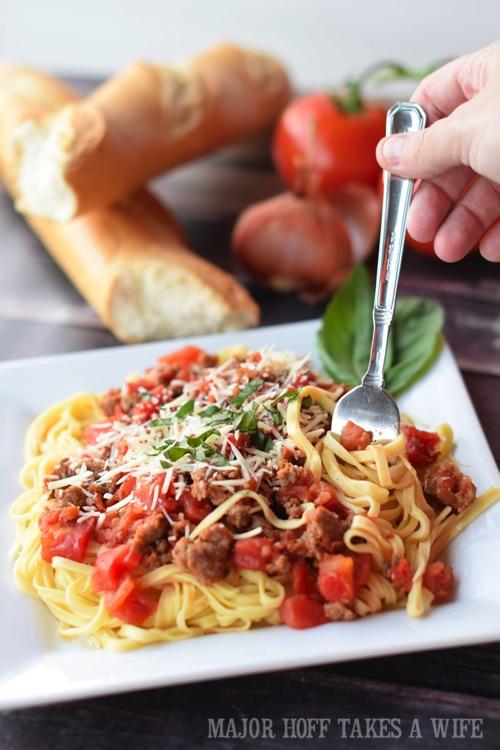 Spaghetti Marinara, spaghetti recipe, italian sausage spaghetti sauce