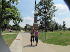 Stac and Laur - our old college Mount Union