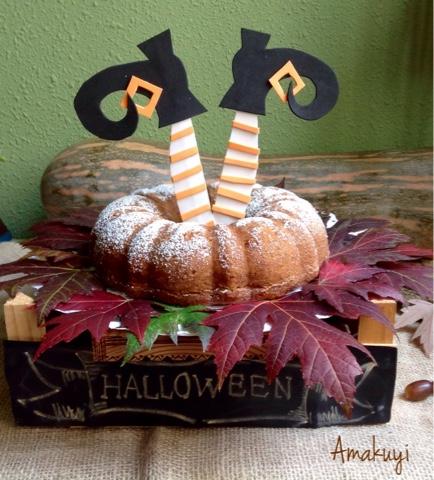 Bizcocho-calabaza-nueces-canela-Halloween-receta