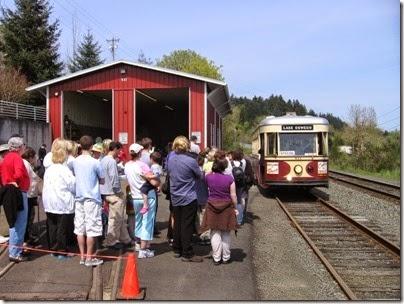 IMG_0553 Willamette Shore Trolley in Lake Oswego, Oregon on April 26, 2008
