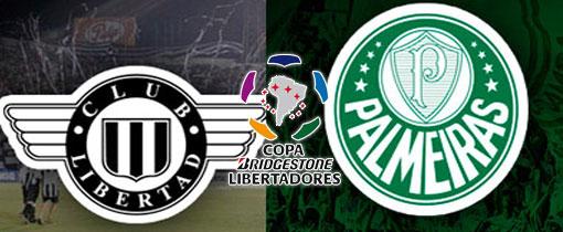 Libertad vs. Palmeiras en Vivo - Copa Libertadores