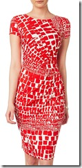Phase Eight red Alyssa stretch dress