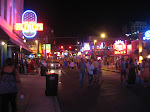 Beale Street at night in Memphis TN 07202012-04