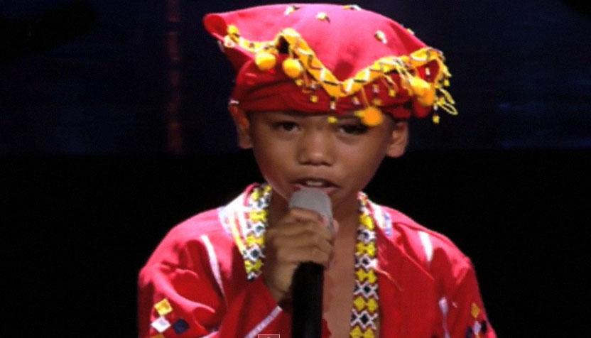 Manobo, Reynan Dal-Anay Blind Audition The Voice Kids 2015 Video