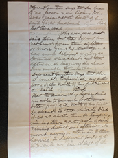 Affidavit of Delia A. Hooker, 24 April 1883, p. 2