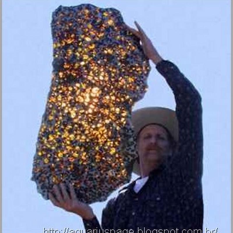 O Meteorito Fukang – Mistério e Beleza Vinda do Espaço