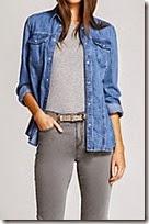 Mint Velvet denim shirt jacket