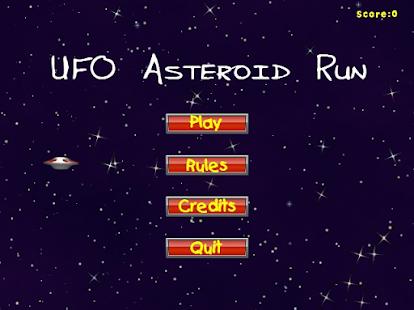 UFO-Asteroid-Run 5