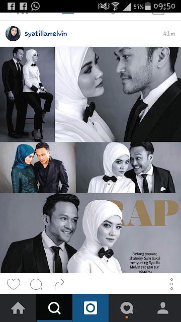 WEDDING OF THE YEAR RM25 JUTA Tajaan Keseluruhan Untuk Majlis Perkahwinan Shaheizy Sam dan Syatilla Melvin!