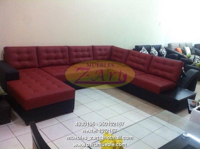 Muebles Perú, muebles villa El Salvador, muebles modernos de sala, muebles de cuero